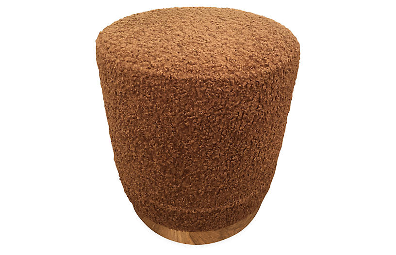 Piper Stool, Saddle Sherpa