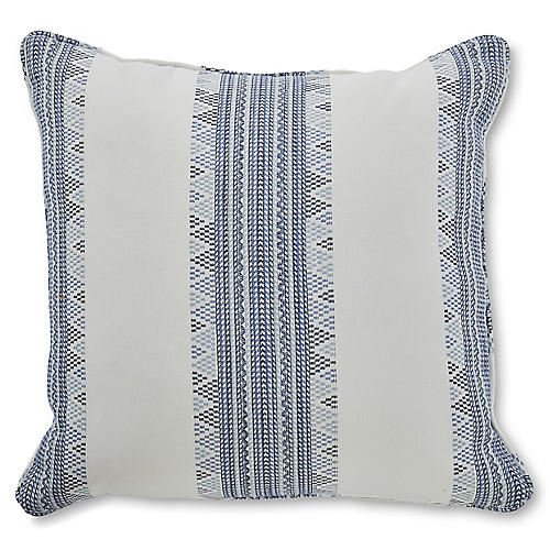 Dupont 19x19 Pillow, Indigo