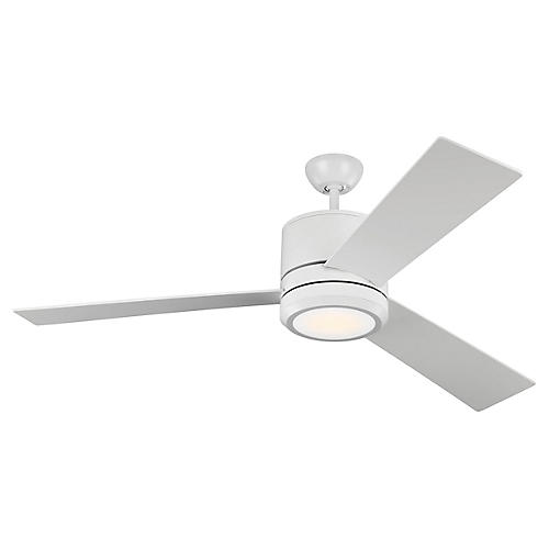 Vision Ceiling Fan, Matte White