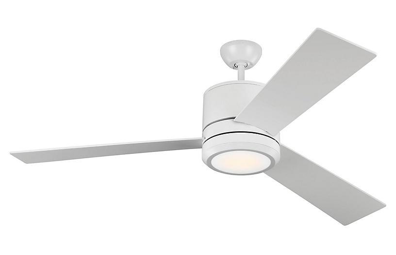 Vision Ceiling Fan, Matte White