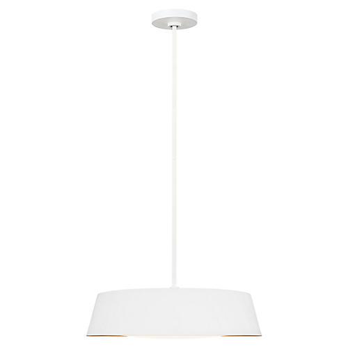 Asher 5-Light Pendant, Matte White