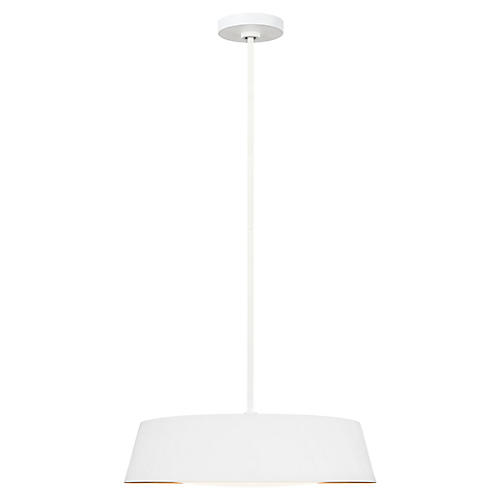 Asher 5-Light Pendant, Matte White
