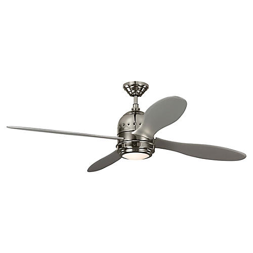 Metrograph Ceiling Fan, Gray