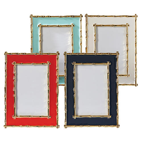 Asst. of 4 Lina Picture Frames, Multi