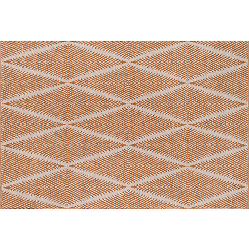 Beacon Outdoor Rug, Orange