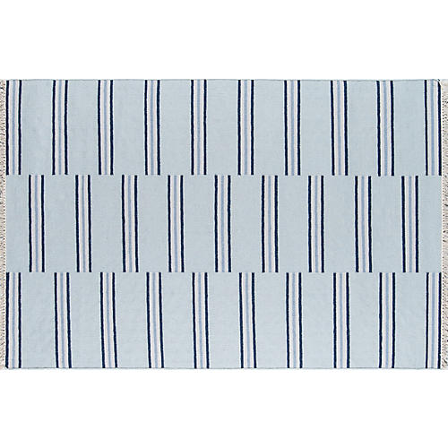 Thompson Union Rug, Blue