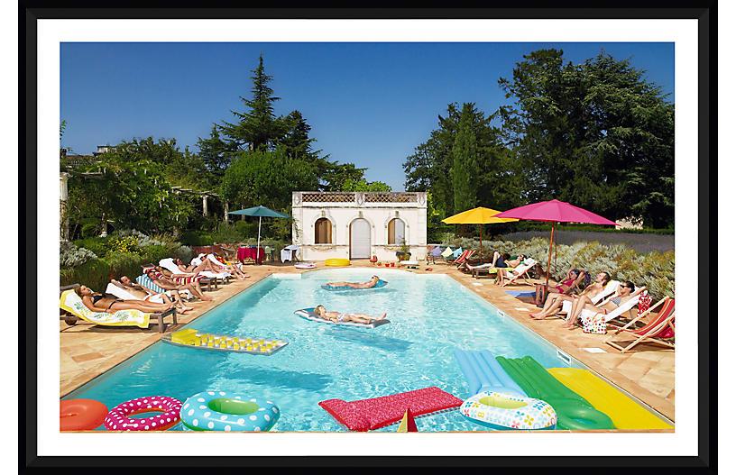 G & M David de Lossy, Summer Around the Pool