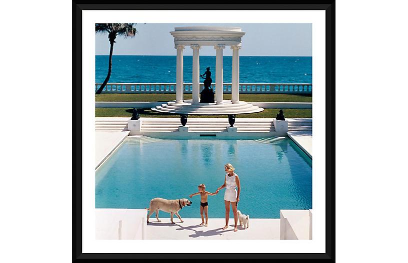 Slim Aarons, Nice Pool