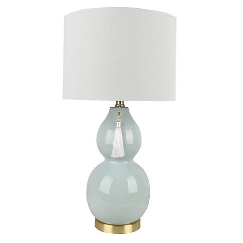 Corinne Table Lamp, Celadon