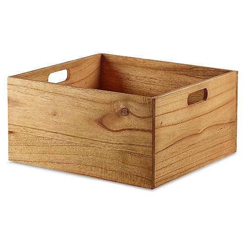 "16"" Yala Large Storage Box, Natural"