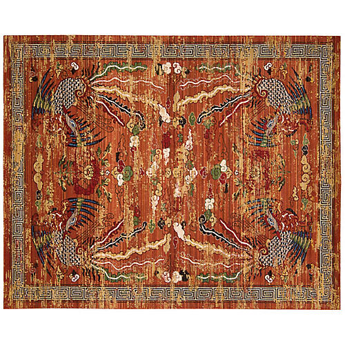 Imperial Dynasty Rug, Persimmon