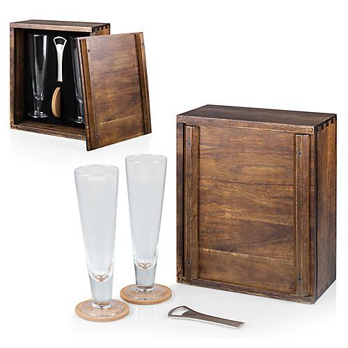 Pilsner Boxed Set, Natural/Multi