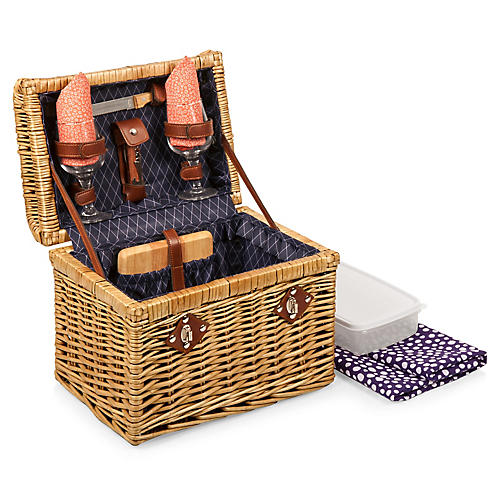 Napa Wine Basket, Neutral