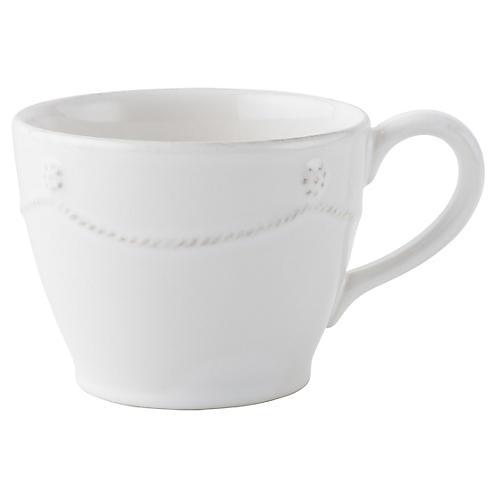 Berry & Thread Teacup, White