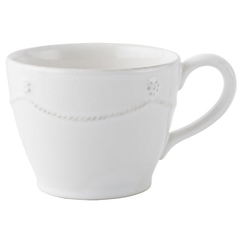 Berry & Thread Teacup, White