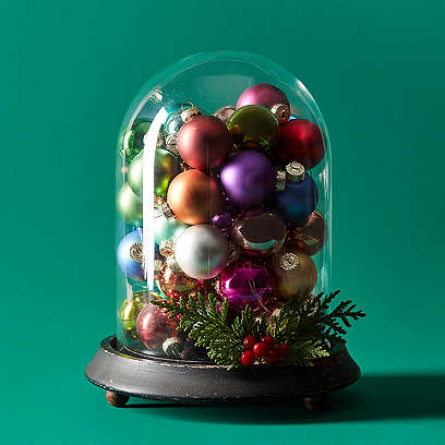 Asst. of 54 Luxe Ball Ornaments, Silver/Multi