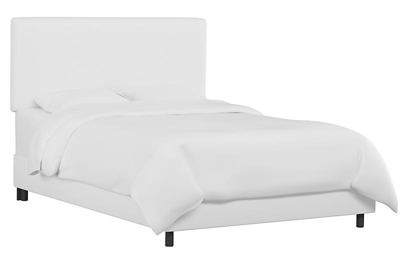 Novak Bed, White