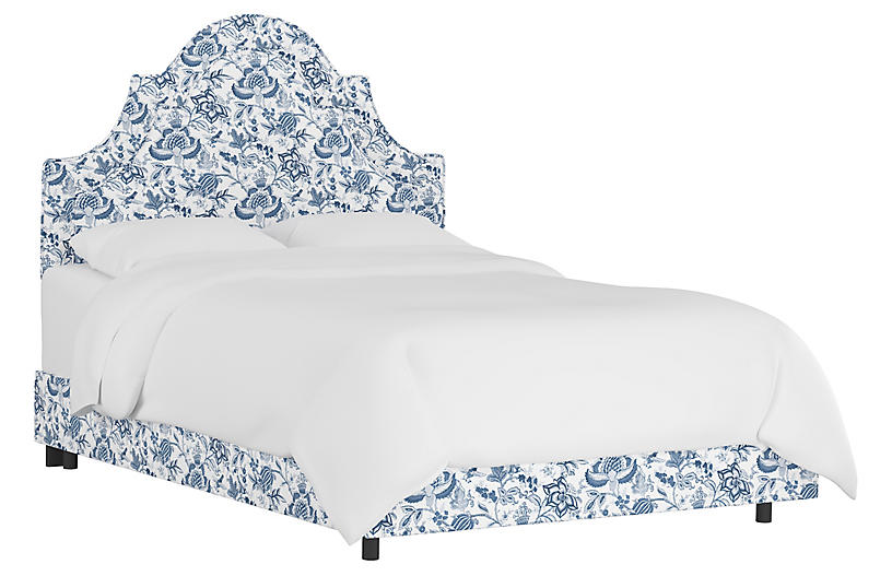Kennedy Bed, Prairie Floral Blue