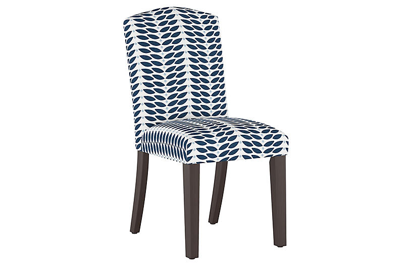 Marie Side Chair, Petal Navy