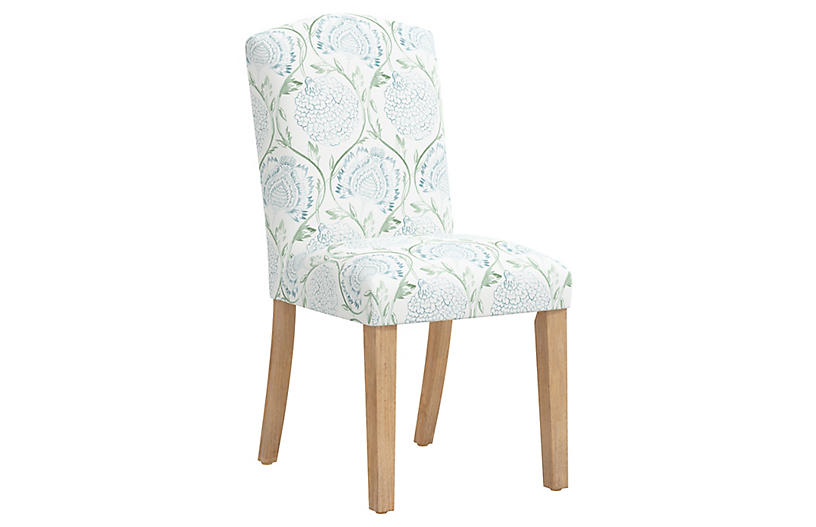 Marie Side Chair, Green