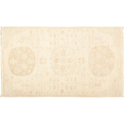 "3'x5'2"" Khotan Rug, Cream/Multi"