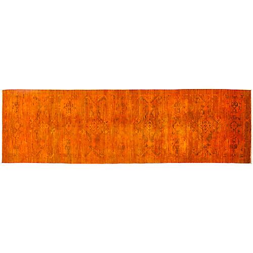 """4'2""""x14'5"""" Vibrance Runner, Orange"""