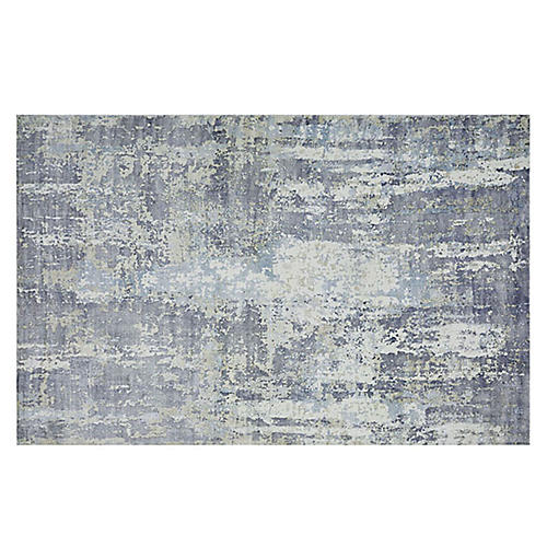 Hagues Rug, Blue/Gray