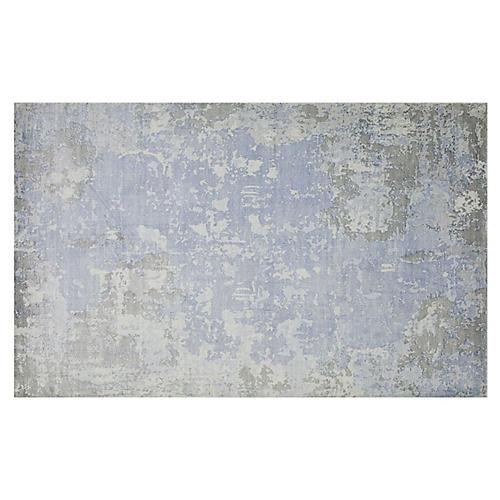 Denali Rug, Blue/Gray
