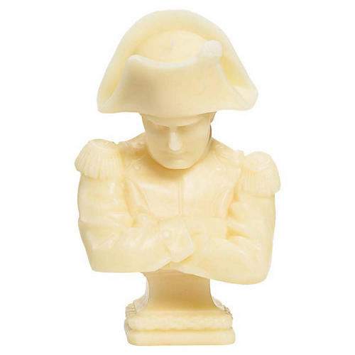Napoleon Bust Candle, Unscented