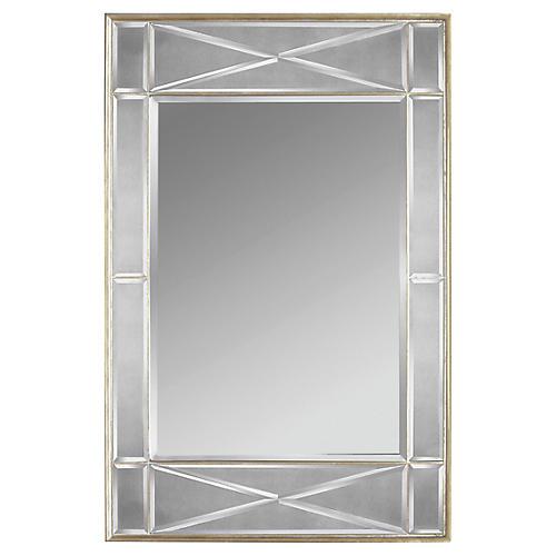 Lezze Wall Mirror, Silver