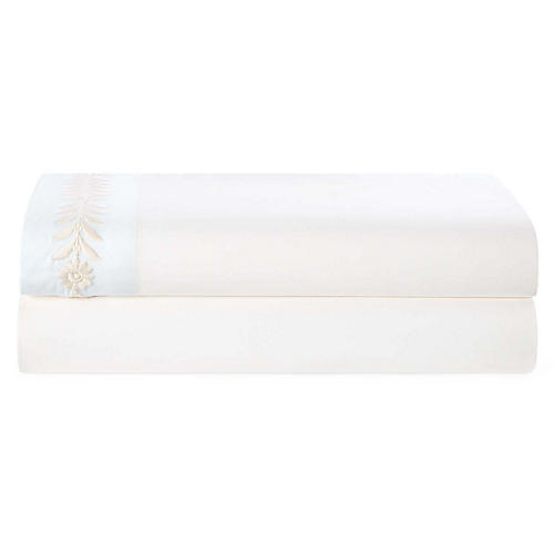 Lizeth Fitted Sheet, Cream Sheet