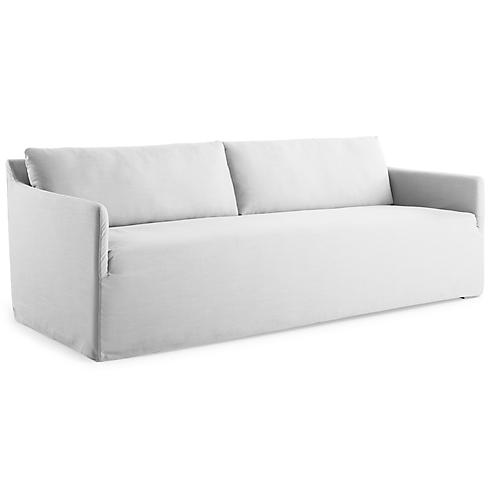 Dorsett Bench Seat Sofa, White
