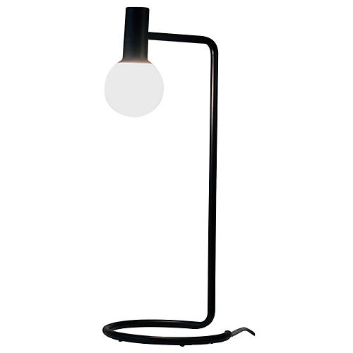 Ambient LED Desk Lamp, Black