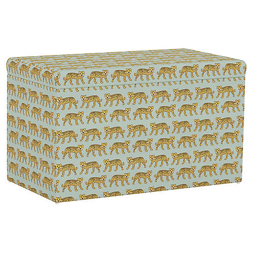 Sebastian Storage Bench, Cheetah Sage