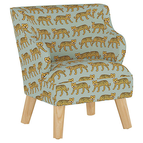 Stella Chair, Cheetah Sage