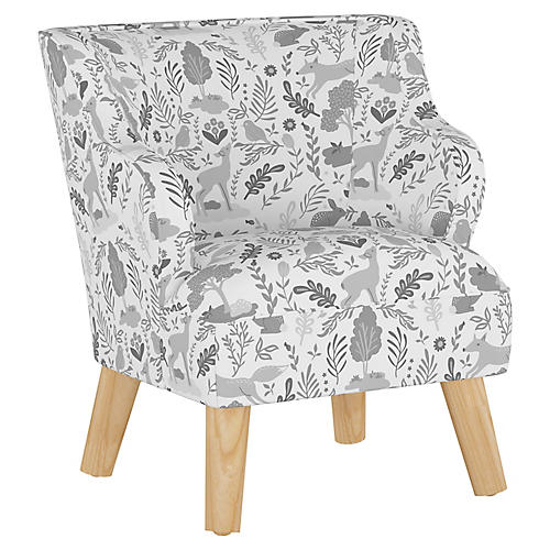 Stella Chair, Woodland Gray