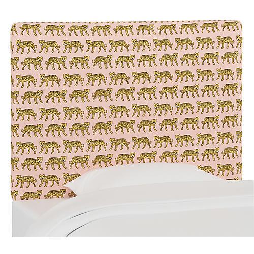 Jordan Headboard, Cheetah Pink