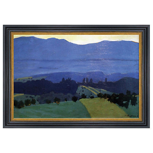 Félix Vallotton, Jura Mountains