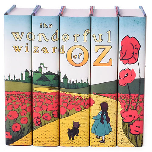 S/5 Wizard of OZ Book Set