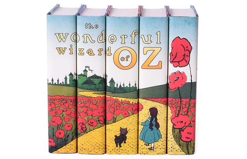 S/5 Wizard of OZ Book Set