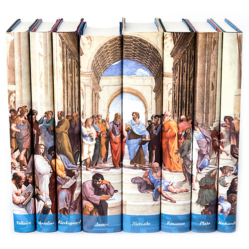 S/18 Major Works of Philosophy Book Set