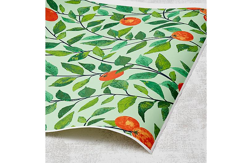 Nathan Turner Orange Crush Wallpaper, Green