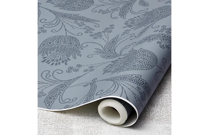 Eleanor Rigby Wallpaper, Slate