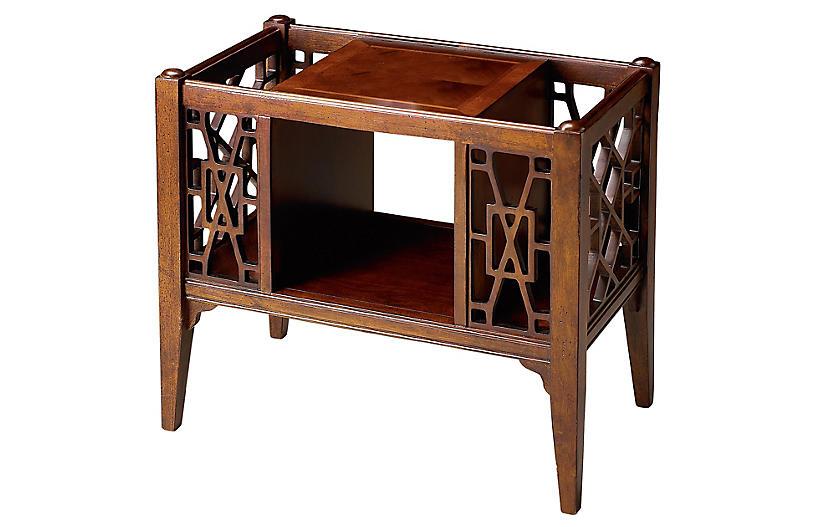 Brilliant 24 Porter Magazine Rack Cherry Maple Cjindustries Chair Design For Home Cjindustriesco