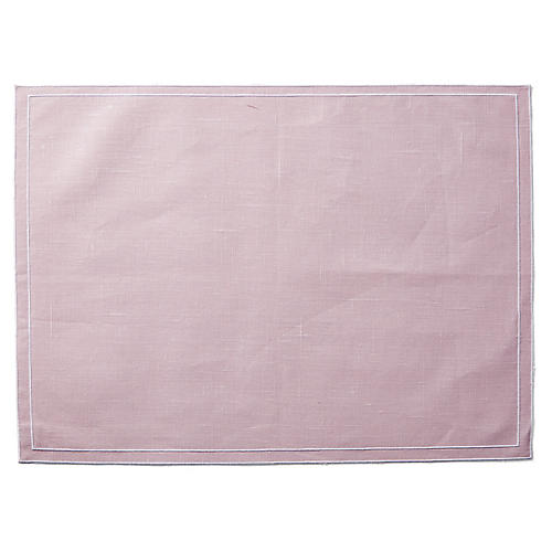 Pogur Place Mat, Powder Rose