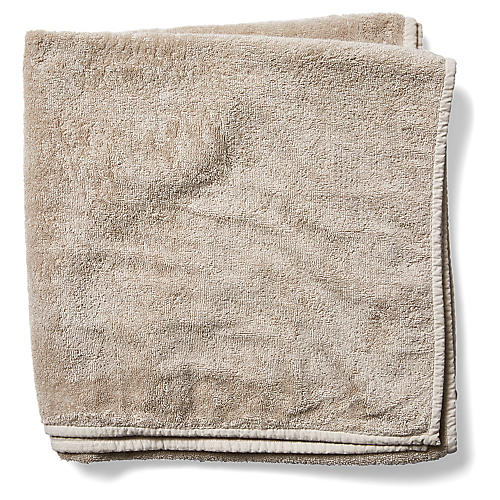 Bliss Bath Sheet, Ecru