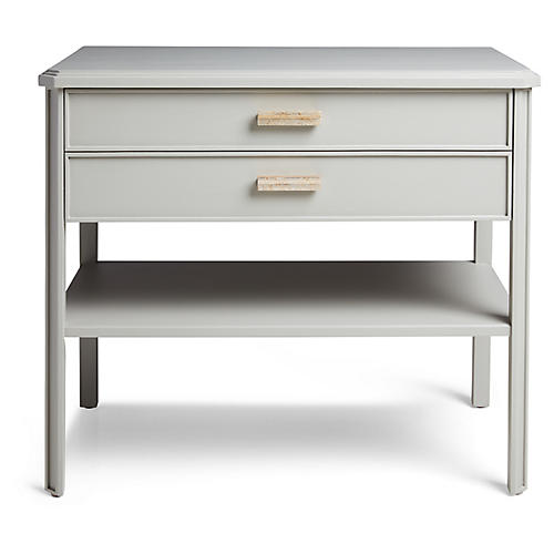 Santo Nightstand, Gray