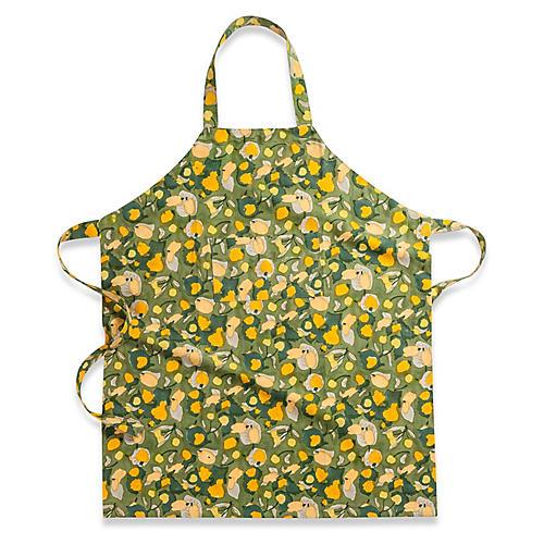 Fruit Apron, Yellow/Green