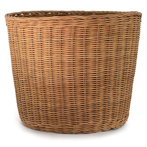 Wicker Planter, Natural