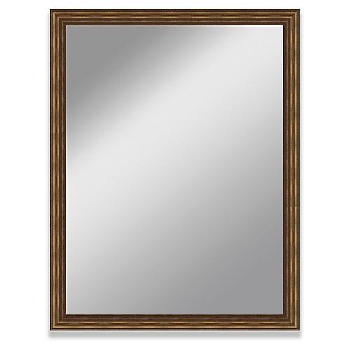 Vidal Wall Mirror, Mahogany